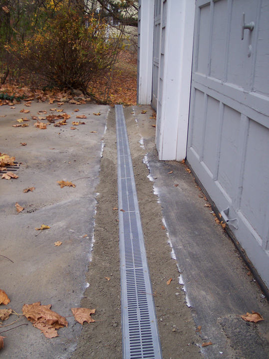 Channel Drainage For Patios: Mittra Productive Landscapes